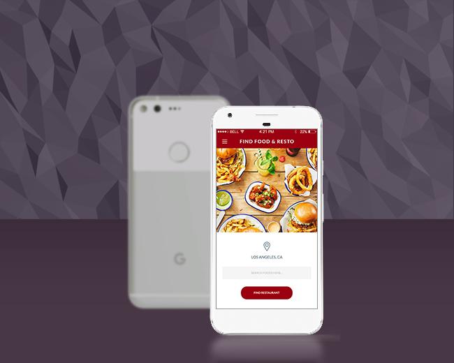 Restaurant – Food Order App